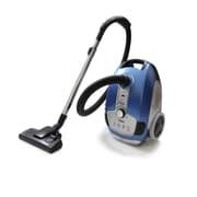 ProLux Prolux Tritan Pet Turbo Canister Vacuum Cleaner HEPA Sealed Hard Floor Vacuum; Blue