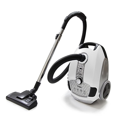 ProLux Prolux Tritan Pet Turbo Canister Vacuum Cleaner HEPA Sealed Hard Floor Vacuum; White WYF078278365960