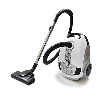ProLux Tritan Canister Vacuum HEPA Sealed Hard Floor Vacuum; White