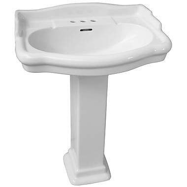 Barclay Stanford 600 35.89'' Pedestal Lavatory Sink