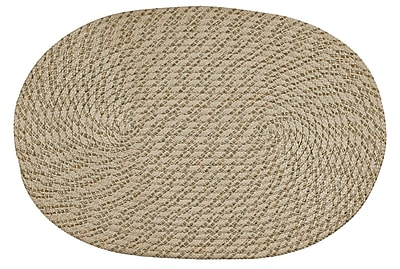 Better Trends Palm Spring Natural Area Rug; 1'7'' x 2'6''