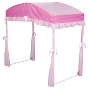 Delta Children Children's Girls Canopy for Toddler Bed; Pink by
