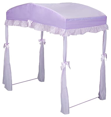 Delta Children Children's Girls Canopy for Toddler Bed; Purple WYF078276675496