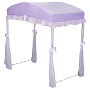Click here to buy Delta Children Children's Girls Canopy for Toddler Bed; Purple.