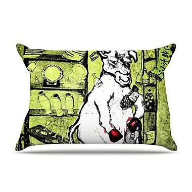 KESS InHouse Taurus Pillow Case; King