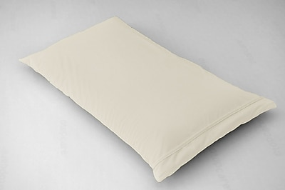BSensible Breathable and Waterproof Pillowcase and Protector; Ivory