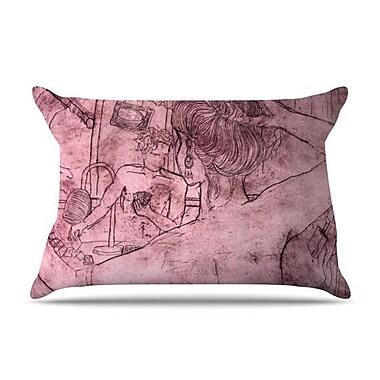 KESS InHouse Magic Tricks Pillow Case; King