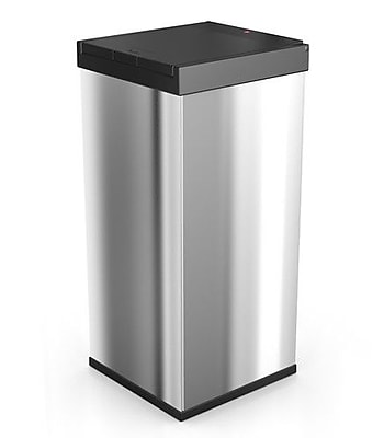 Hailo USA Inc. Big Box 80 18.7 Gallon Touch Top Trash Can; Stainless Steel