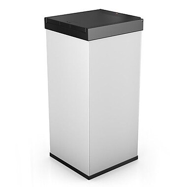 Hailo USA Inc. Big Box 80 21 Gallon Touch Top Trash Can; White