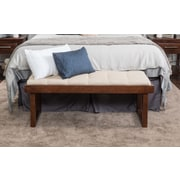 Home Loft Concepts Bayer Fabric Bedroom Bench