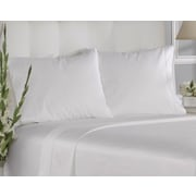 Aspire Linens 400 Thread Count Cotton Solid Pillowcases (Set of 12); King