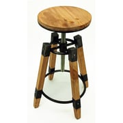 Vandue Corporation Wyland Adjustable Height Bar Stool (Set of 2)