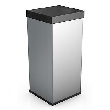 Hailo USA Inc. Big Box 80 21 Gallon Touch Top Trash Can; Silver