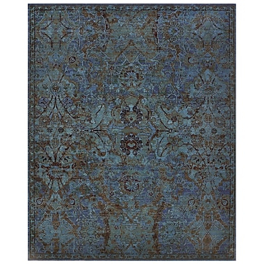 Nourison Timeless Peacock Area Rug