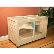 New Age Pet Park Avenue Indoor Small Animal Rabbit Hutch