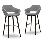 Glamour Home Decor Ade 29.5'' Bar Stool (Set of 2)