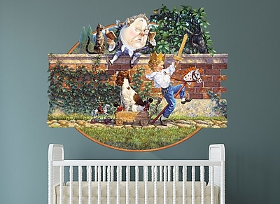 Wall-Ah! Humpty Dumpty Wall Decal