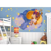 Wall-Ah! Man in the Moon Wall Decal