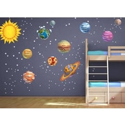 Wall-Ah! DIY Solar System Wall Decal