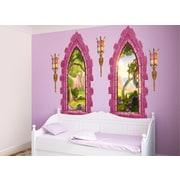 Wall-Ah! Castle Windows Wall Decal