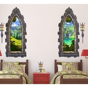 Wall-Ah! Castle Windows Wall Decals