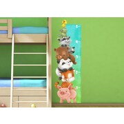 Wall-Ah! Animal Growth Chart Wall Decal