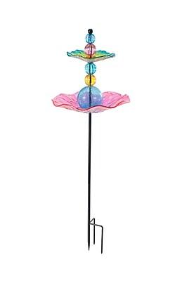 Sunjoy Garden Decorative Tray Bird Feeder (WYF078278912478) photo