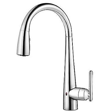 Pfister Lita Single Handle Deck Mounted Kitchen Faucet; Polished Chrome