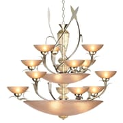 Van Teal Almost Autumn Persuasive 12-Light Shaded Chandelier