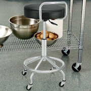 Seville Classics Adjustable Height Swivel Bar Stool