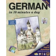 German in 10 Minutes a Day, Paperback (9781931873314)