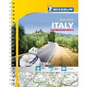 Michelin: Italy Road Atlas, 0018, Paperback (9782067192454)