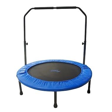 Upper Bounce 40'' Mini Rebounder Foldable Fitness Trampoline