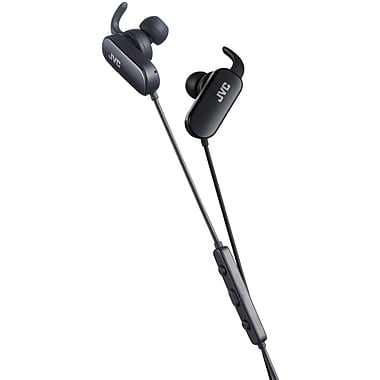 JVC HA-EBT5-B Bluetooth Wireless In-Ear Sport Leisure Headphones, Black