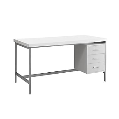 Monarch I 7046 3 Drawer Computer Desk 60