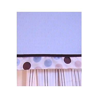 Brandee Danielle Ash 53'' Curtain Valance; Blue