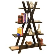 Mega Home 61'' Accent Shelves Bookcase
