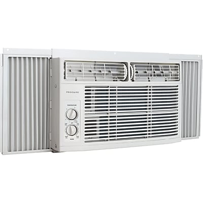 Frigidaire 6,000 BTU 115V Window-Mounted Mini-Compact Air Conditioner with Mechanical Controls