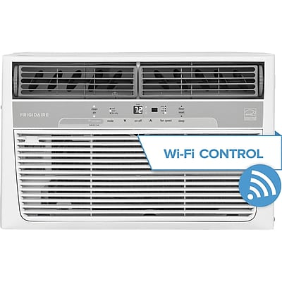Frigidaire Cool Connect 8,000 BTU 115V Window-Mounted Air Conditioner with Wi-Fi Control (FFRC0833R1)