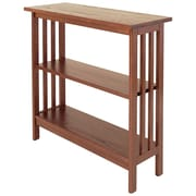 Manchester Wood Mission 30'' Etagere Bookcase; Chestnut
