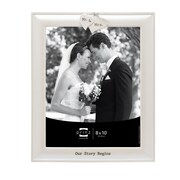 Prinz Soulmates ''Mr. & Mrs.'' Cast Resin Picture Frame