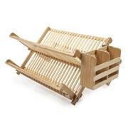Core Bamboo Dish Rack w/ Utensil Holder