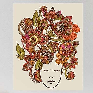 My Wonderful Walls Floral Head Art Wall Decal; Small