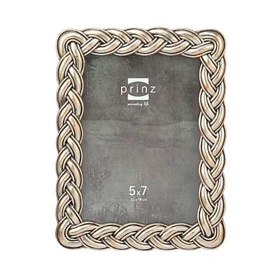Prinz Argent Braided Cast Resin Picture Frame; Gold