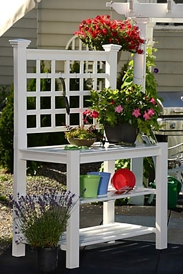 New England Arbors Novelty Plant Stand
