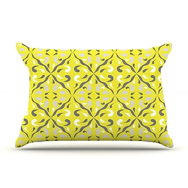 KESS InHouse Seedtime Pillow Case; King