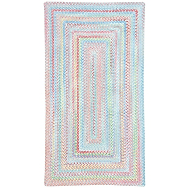 Capel Baby's Breath Bell Kids Area Rug; Concentric Square 7'6''