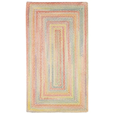 Capel Baby's Breath Buttercup Kids Area Rug; Concentric Square 7'6''