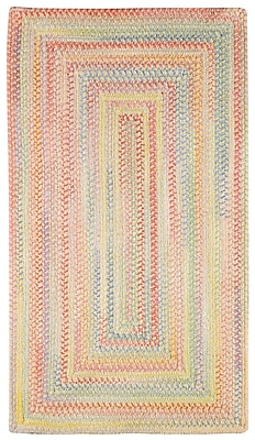 Capel Baby's Breath Buttercup Kids Area Rug; Concentric Runner 2' x 8'