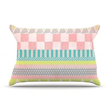 KESS InHouse Luna Pillow Case; King